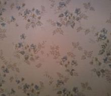 q i have these walls in living room and bathroom, home decor, wall decor, It feels like wallpaper but its not