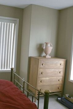 getting rid of vertical blinds with clearance items, bedroom ideas, home decor, This is BEFORE Sad sad room with vertical blinds