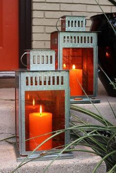 creating colored ikea lanterns for pennies, crafts, outdoor living