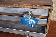 upcycled junk turned into a stylish industrial 3 drawer cabinet, repurposing upcycling, woodworking projects