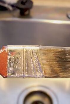 the easiest and laziest way to clean your paintbrushes, cleaning tips, painting