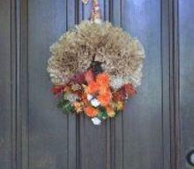 coffee filter wreath, crafts, wreaths