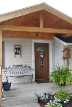 entry, crafts, curb appeal, New Entrance