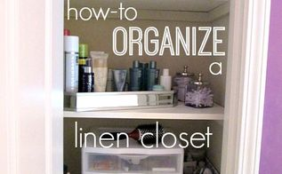 how to organize a linen closet, closet, organizing