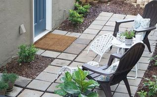patio makeover and reveal, decks, gardening, landscape, outdoor living, patio