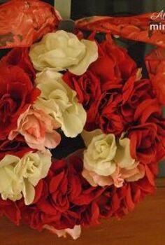 dollar tree valentine s wreath tutorial, crafts, seasonal holiday decor, valentines day ideas, wreaths