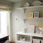 the art of getting more storage space in your laundry room, cleaning tips, laundry rooms, storage ideas, This laundry room had two strikes against it it was very small and the owners couldn t afford to spend any money on making it more functional Using a mixture of thrifted scavenged and repurposed items they managed to completely redo their laundry area and add much needed storage