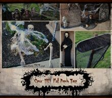 is your porch full of autumn color or spooky halloween, halloween decorations, porches, seasonal holiday decor