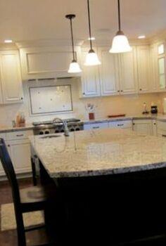 an amazing kitchen transformation, hardwood floors, home improvement, kitchen backsplash, kitchen design, kitchen island
