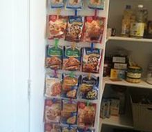 the start of pantry organization, closet, organizing, shelving ideas