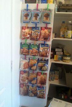 the start of pantry organization, closet, organizing, shelving ideas