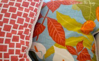 diy beach theme throw pillows, crafts, Robert Allen fabric found at Joann s Fabric and Craft store
