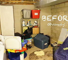 Basement Laundry Room RedoBefore and After Hometalk