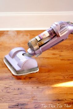 the best hardwood floor advice you will get today, flooring, hardwood floors, home maintenance repairs, Before cleaning I use my shark steamer which omits a high degree of water and no water residual on the floor