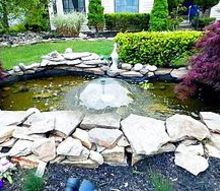 q i need a step down from my pond to the lawn, gardening, landscape, outdoor living, ponds water features