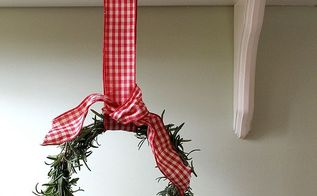 How To Make An Herb Wreath For The Holidays Hometalk