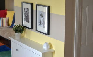 how to paint wall stripes, paint colors, painting, wall decor