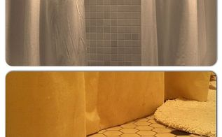 adding a little luxury to a tiny bathroom, bathroom ideas, home decor, painted furniture, repurposing upcycling