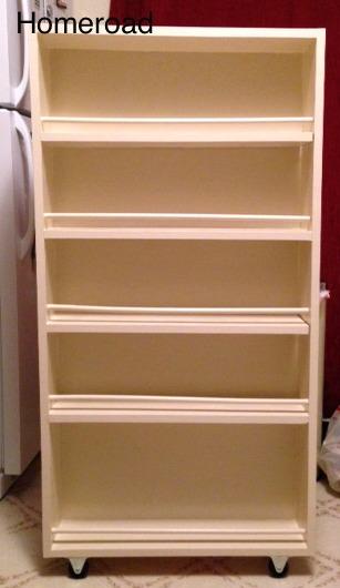 diy slide out pantry kitchen storage hometalk