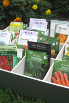 organize those seed packets, gardening, organizing, The final product Photo by Greg Holdsworth