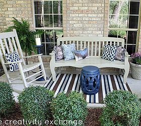 Front Porch Revamp How To Spray Paint Outdoor Furniture, Curb Appeal, Outdoor  Furniture,