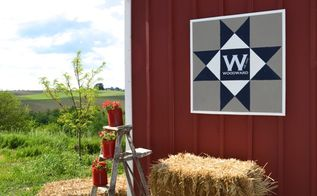 how to make a diy barn quilt with supplies around the house, crafts, outdoor living