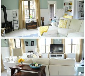 Cottage Family Room Ideas Part - 45: Coastal Cottage Family For Four Generations Living Under One Roof Diy  Console Wide, Home Decor