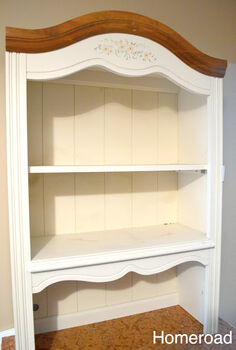 hutch topper, home decor, painted furniture