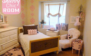 my little girl s shabby chic bedroom, bedroom ideas, home decor, shabby chic