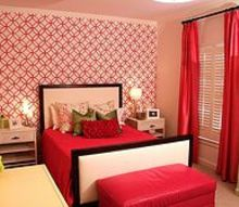 accent wall for a tween, bedroom ideas, home decor, painting, After of accent wall