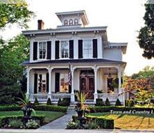 the appeal of a classic white house, architecture, curb appeal, This gorgeous Italianate style Victorian wears white proudly with a wooden double front door and oversized windows