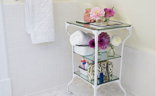 vintage medical table before after, bathroom ideas, home decor, painted furniture, repurposing upcycling, I love anything vintage salvaged old or interesting My husband says I only like broken things