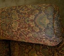 q how to clean arm covers on an upholstered recliner, cleaning tips, painted furniture