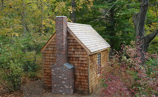 replica of henry david thoreau s cabin at walden pond, outdoor living