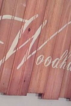upcycled floorboards, crafts