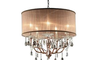 beautiful brass lighting fixtures for entry task lighting, home decor, lighting, brass chandelier with a chandelier shade