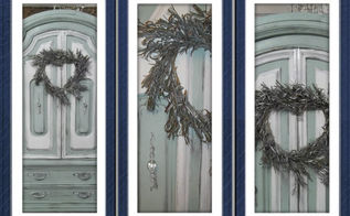 armoire makeover before and after, painted furniture
