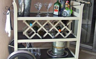 my favorite five from 2013, painted furniture, rustic furniture, Changing Table Bar Cart