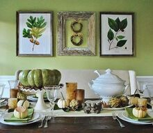 green and natural thanksgiving tablescape, seasonal holiday d cor, thanksgiving decorations