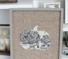 seasonal burlap frame, crafts, repurposing upcycling, seasonal holiday decor