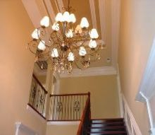 a simple rule for choosing the rights size light fixtures, lighting, Choose a dramatic light for 20 foyers