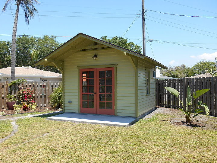 Artist studio shed hometalk for Sheds in brooksville fl