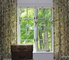 mson jar window treatment, crafts, mason jars, window treatments