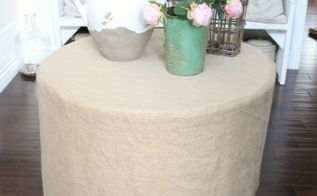 diy burlap tablecloth, crafts, DIY burlap tablecloth