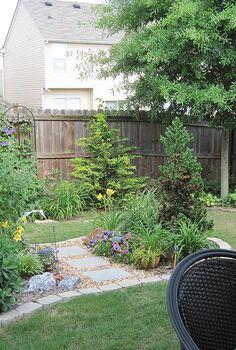 transforming my backyard into a secret garden, flowers, gardening, landscape, outdoor living, perennial
