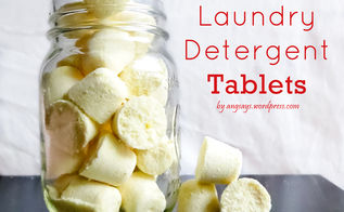 homemade laundry detergent tablets, cleaning tips, go green
