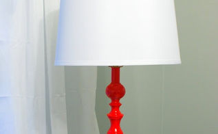 updated brass lamps, lighting, painting