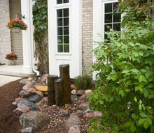 a front yard view worth stopping to see, curb appeal, gardening, landscape