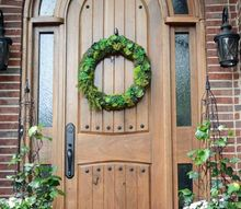 diy arched tudor door, diy, doors, how to, woodworking projects