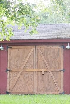 barn makeover with pallet wood, diy, pallet, woodworking projects